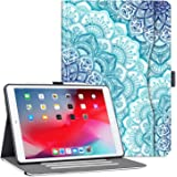 Vimorco Case for ipad 10.2 inch 7th/8th Generation 2019/2020 with Pocket, Multi-Angle Stand, Auto Wake/Sleep,Hand Strap with