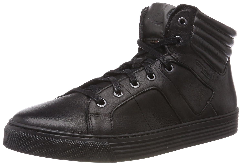 Camel Active Bowl 35, Zapatillas Altas para Hombre 44.5 EU|Negro (Black/Grey 2)