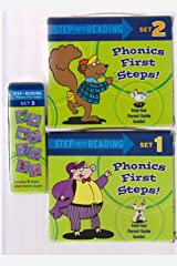 Step into Reading Phonics First Steps (Phonics Boxed Sets - 24 Books) Paperback