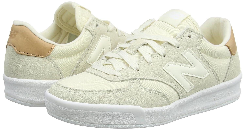 New Balance Women's 300v1 Sneaker B0751TCF8L 8 B(M) US White