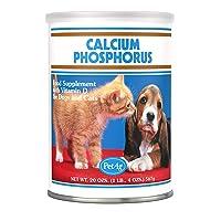 PetAg Calcium Phosphorus Growth Powder, 20-Ounce
