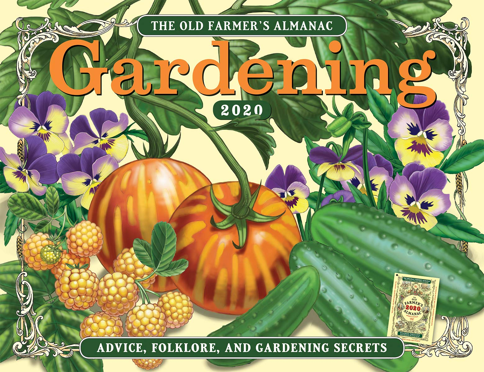 Image for The 2020 Old Farmer's Almanac Gardening Calendar