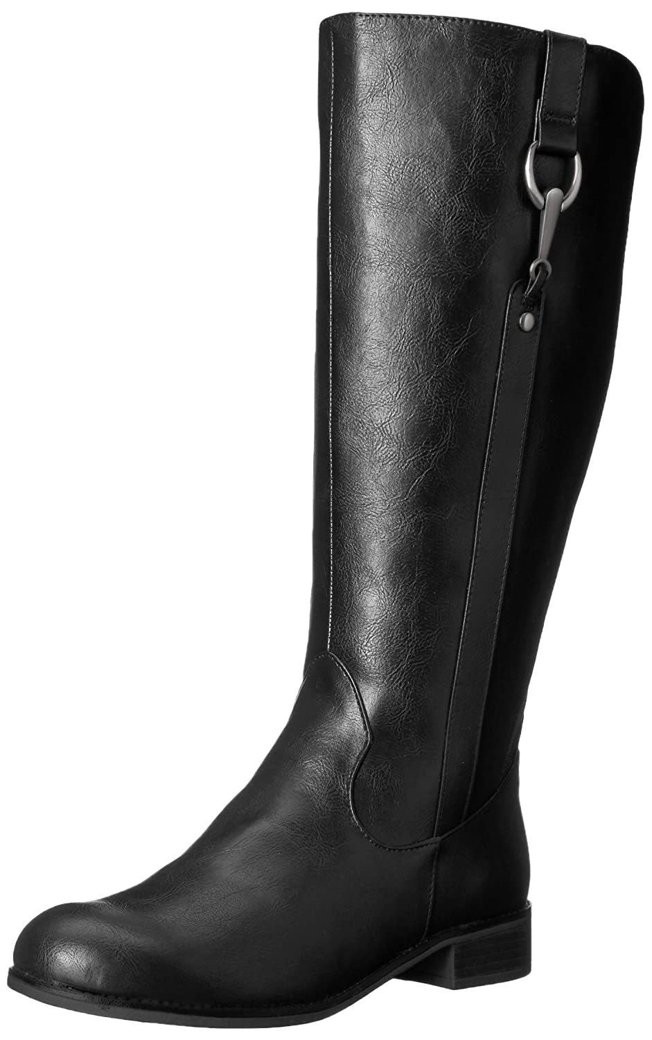 LifeStride Women's Sikora-Wc Riding Boot B07325DXQL 9.5 W US|Black