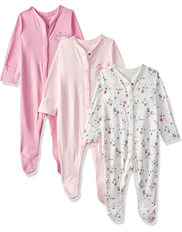 23aaec0b1817 Mothercare Baby Girls Mummy & Daddy 3 Packed Sleepsuit