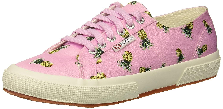 Superga Women's 2750 Satinfantw Sneaker B078KCXGSP 37 M US|Pink/Multi