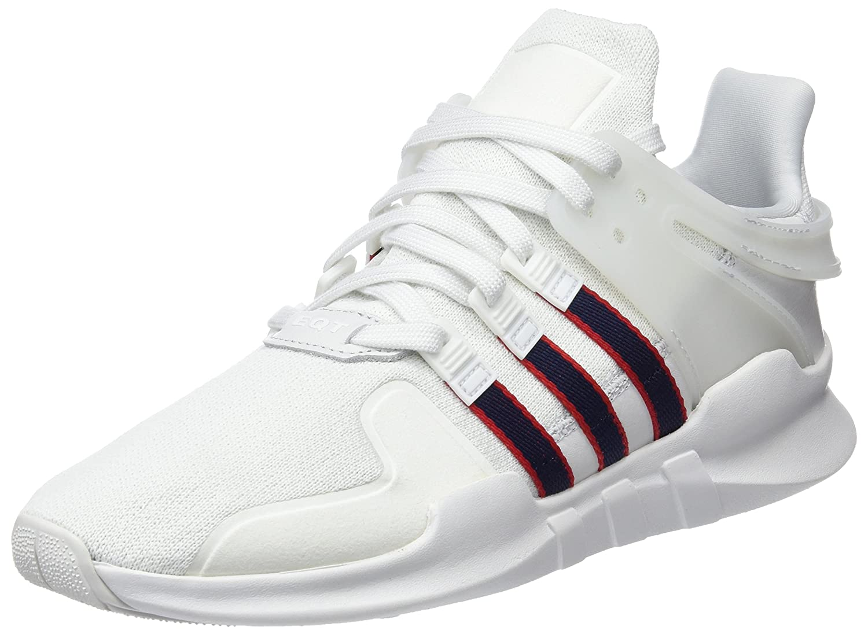 Adidas EQT Support ADV, Zapatillas de Deporte para Hombre 39 1/3 EU|Blanco (Crystal White/Collegiate Navy/Scarlet)