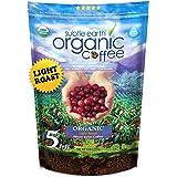 5LB Subtle Earth Organic Coffee - Light Roast - Whole Bean - Organic Arabica Coffee - (5 lb) Bag