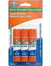 Elmer's 60509q Extra Strength Office Glue Stick, 8g (0.28 Oz.) Each, 3-Pack