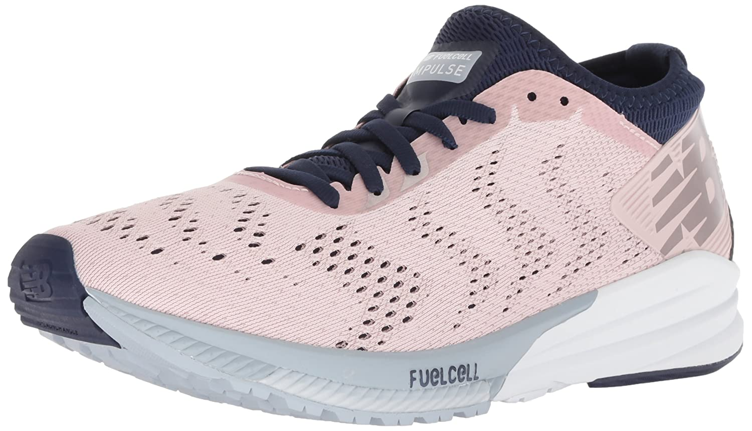 New Balance Women's Impulse V1 FuelCell Running Shoe B075R7BYTG 10 D US|Light Pink