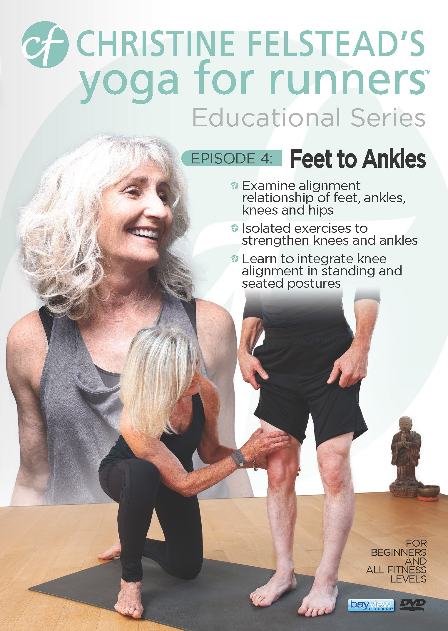 DVD : Yoga For Runners Educational Series #4: Feet To Ankles (DVD)