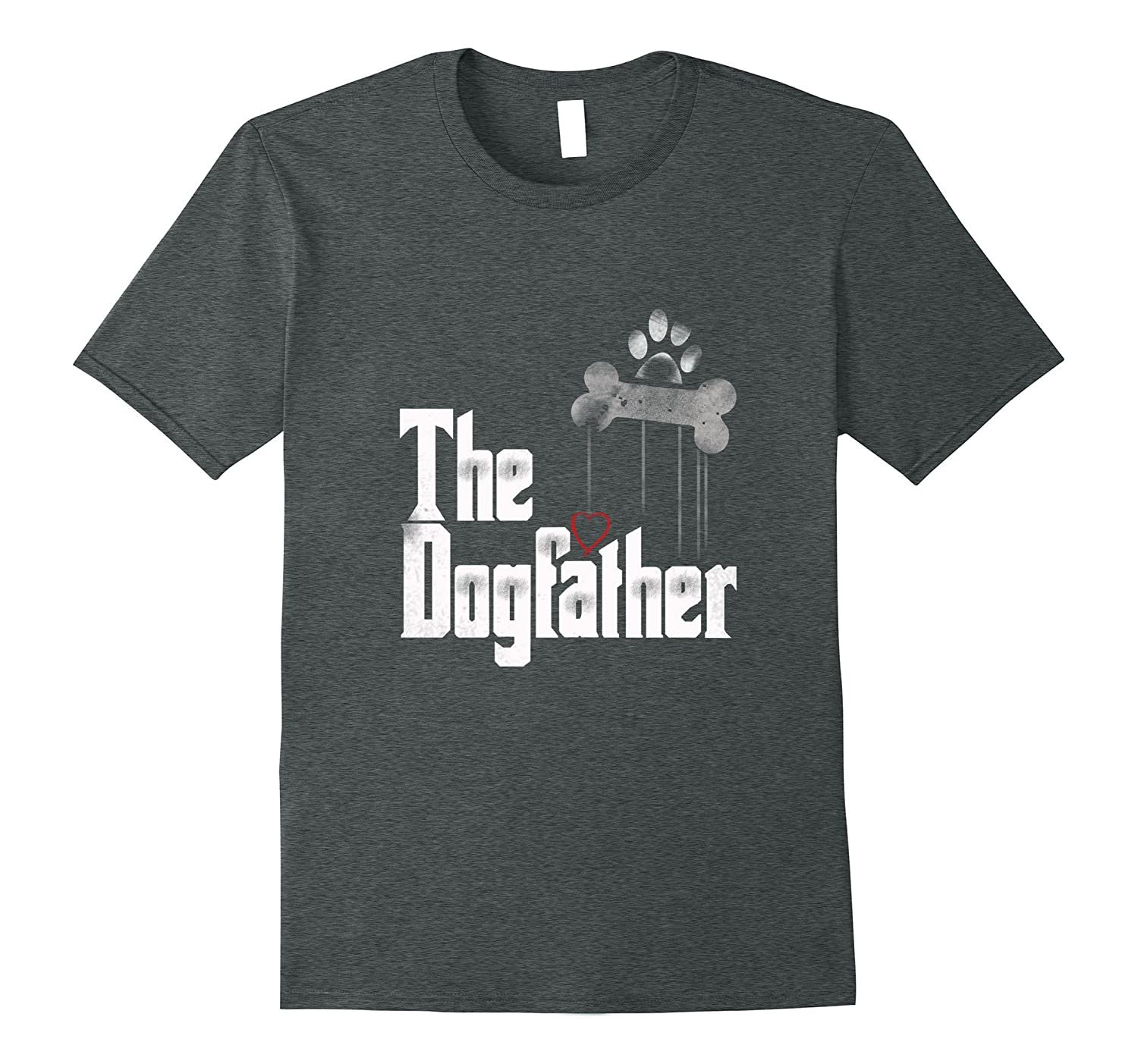 Mens The Dogfather Shirt Dad Dog T-shirt | Funny Father's ...