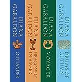 The Outlander Series Bundle: Books 1, 2, 3, and 4: Outlander, Dragonfly in Amber, Voyager, Drums of Autumn (Outlander Bundle)