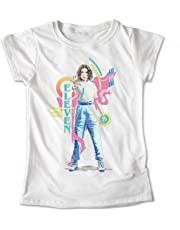Blusa Stranger Things Once Colores Playera Estampado Sombra #574