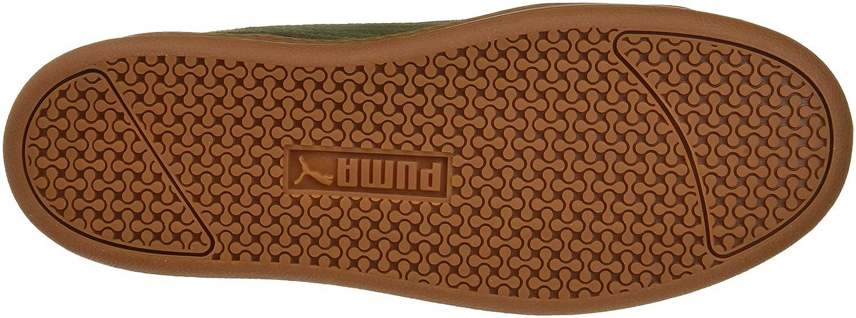 Puma Grau Damen Smash Platform L Sneaker, Grau Puma (Forest Night-forest Night 05) cd84a3