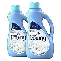 Downy Ultra Cool Cotton Liquid Fabric Conditioner (Fabric Softener) 51 Fl Oz (Pack...