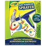 Crayola Air Marker Sprayer Set, Marker Art Tool, Spray Art, Airbrush Stencil Kit, Gift for Boys and Girls, Kids, Ages 5, 6,7