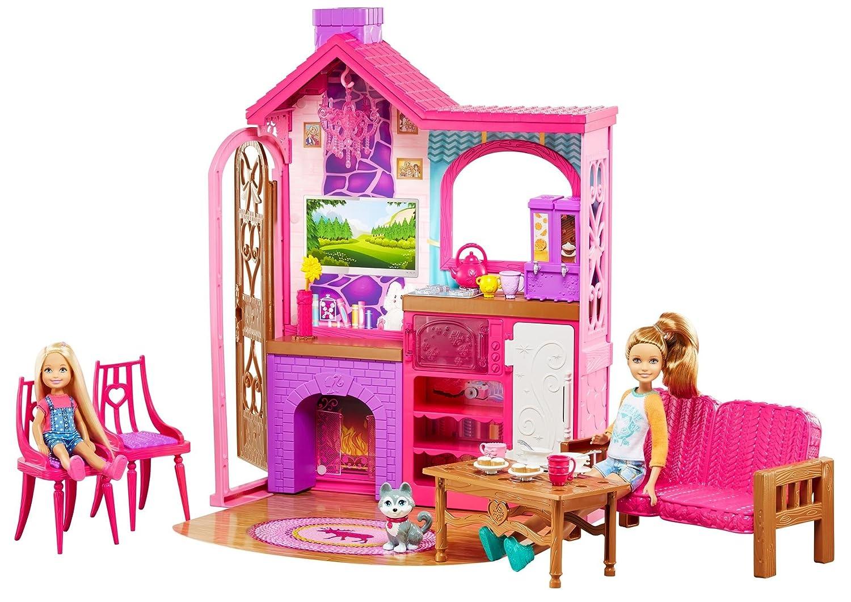 Barbie DYX20 - Blockhütten Spielset