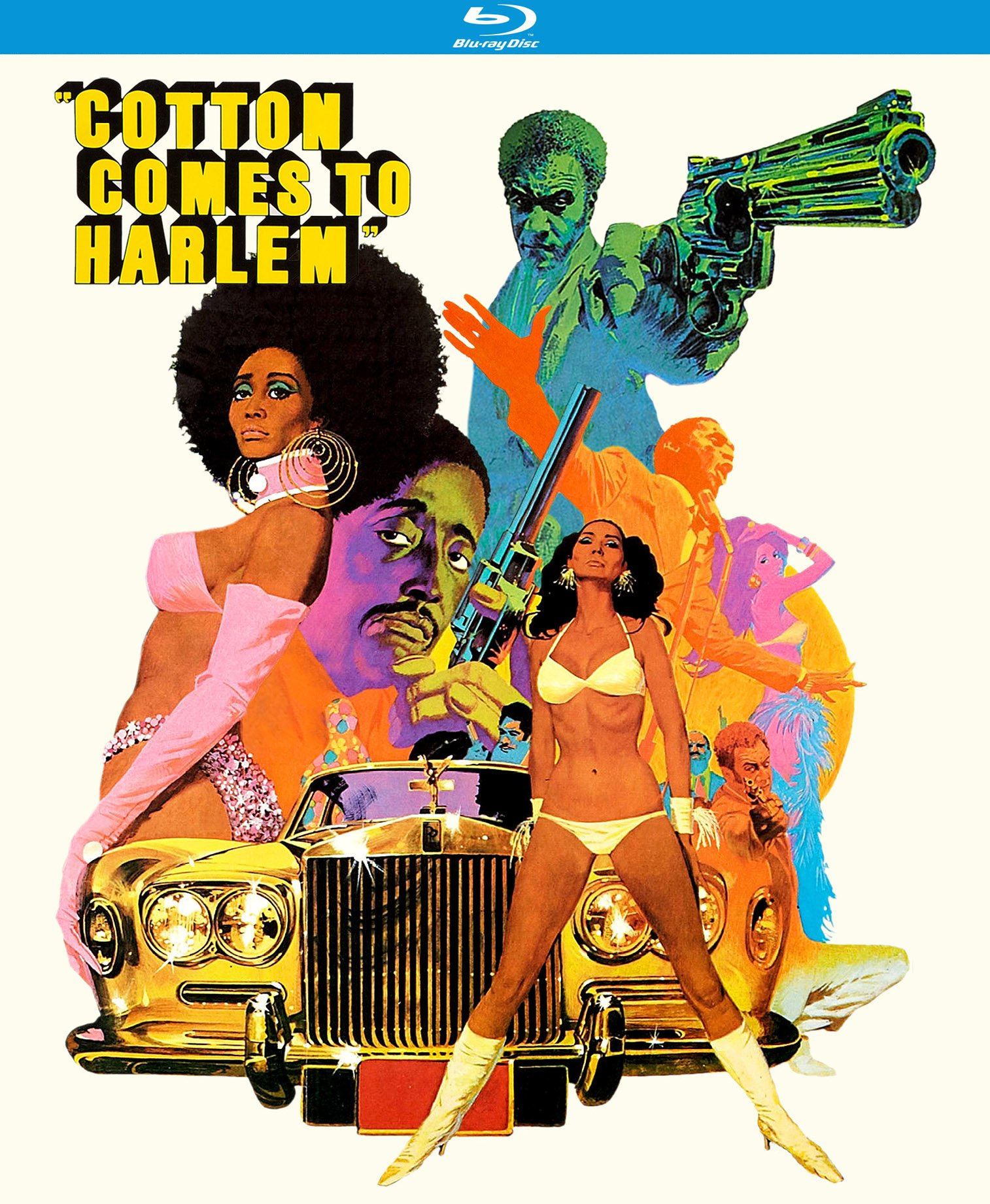 Blu-ray : Cotton Comes To Harlem (Subtitled)