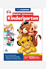 Disney Learning | Magical Adventures in Kindergarten | Math and Language Arts Workbook, 256pgs Paperback