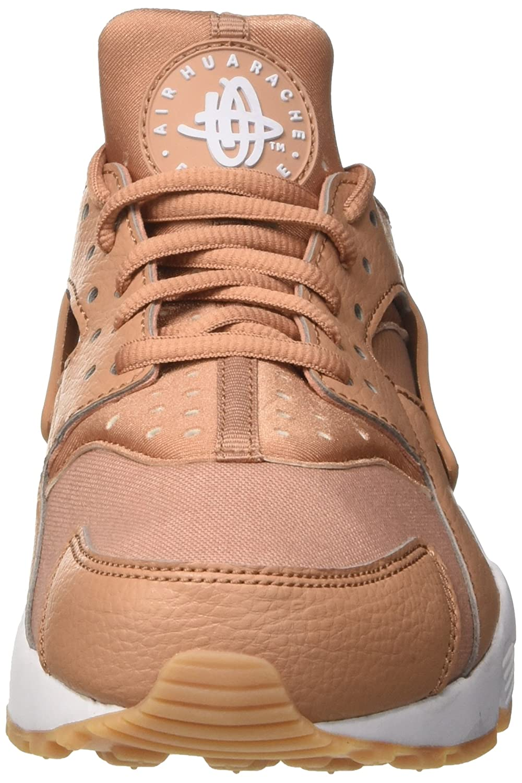 Nike Damen Air Huarache Run Trainer Trainer Trainer Beige (Dusted Clay Weiß Gum Gelb) 36.5 EU 330914