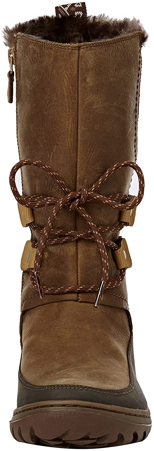 Merrell Women's Sylva Tall 5.5 Waterproof Snow Boot B019587WXU 5.5 Tall B(M) US|Merrell Tan c2006d