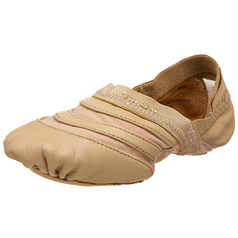 Capezio Women's FF01 Freeform Ballet Shoe B002CMMX2M 14 B(M) US|Caramel