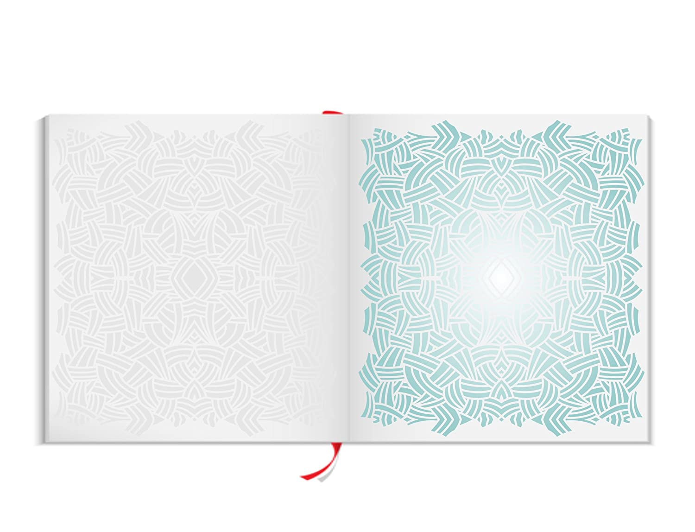 Scribble Muster Schablone – – – wiederverwendbar Groß Abstraktes Allover Muster Wand Schablone – Vorlage, auf Papier Projekte Scrapbook Tagebuch Wände Böden Stoff Möbel Glas Holz etc. L B07G31M63P   Garantiere Qualität und Qua 311342