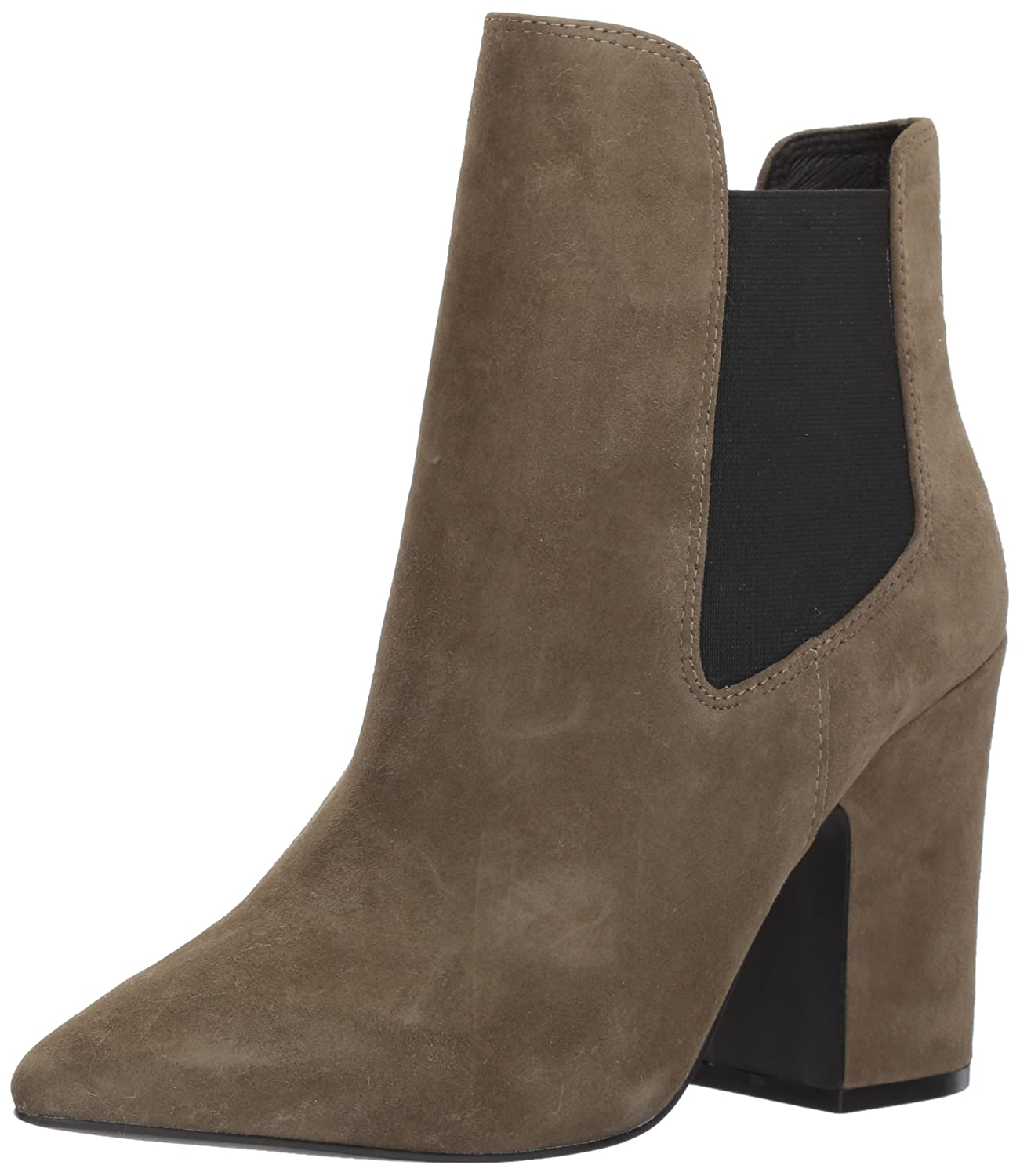 Chinese Laundry Kristin Cavallari Women's Starlight Ankle Bootie B071HTDQRG 7.5 B(M) US|Olive Suede