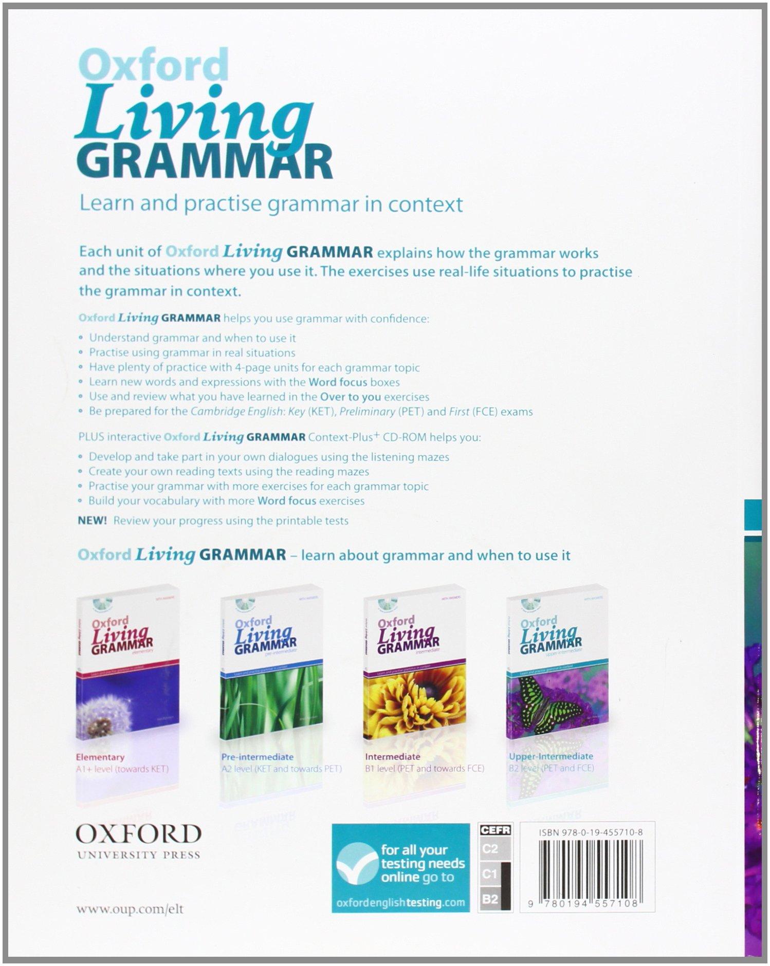 Oxford Living Grammar Elementary Pdf