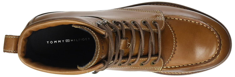 Tommy Hilfiger Herren R2285udy 1a Cognac) Biker Boots Braun (Winter Cognac) 1a 6675d5