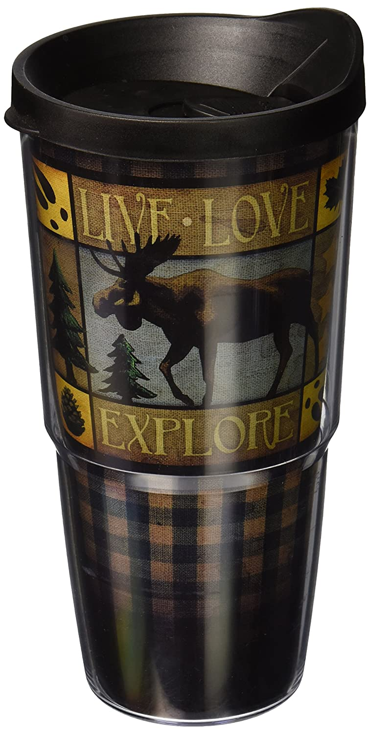 American Expedition Lodge Serie Moose 24 Unze doppelwandig Acryl-Zahnputzbecher
