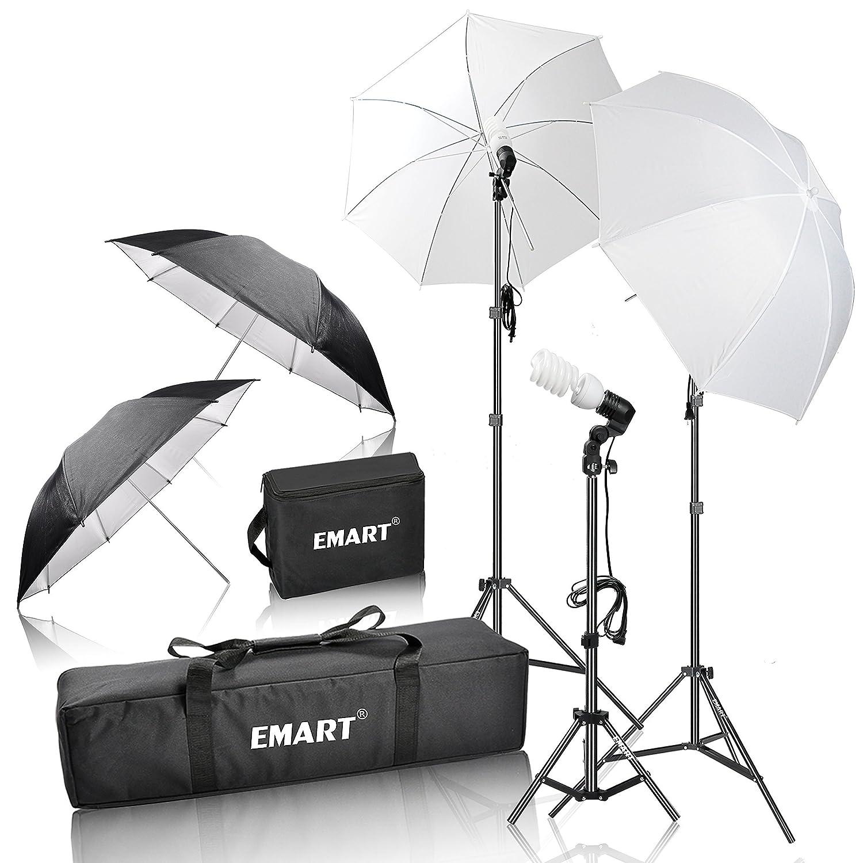 Amazon.com : Emart 600W Photography Photo Video Portrait Studio ... for Umbrella Photography Lights  131fsj