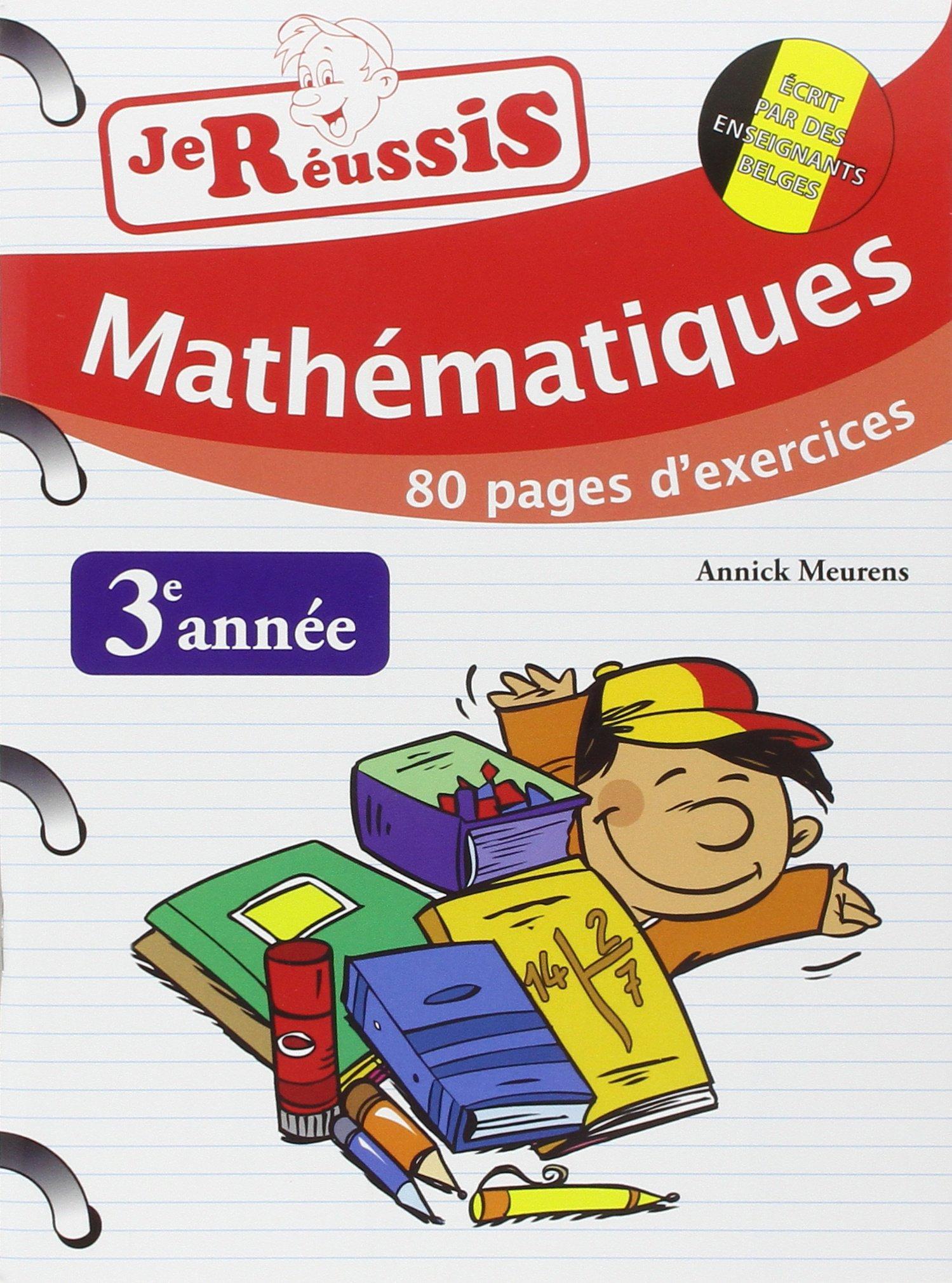 Amazon Co Jp Je Reussis Maths 3eme Annee Ɯ¬