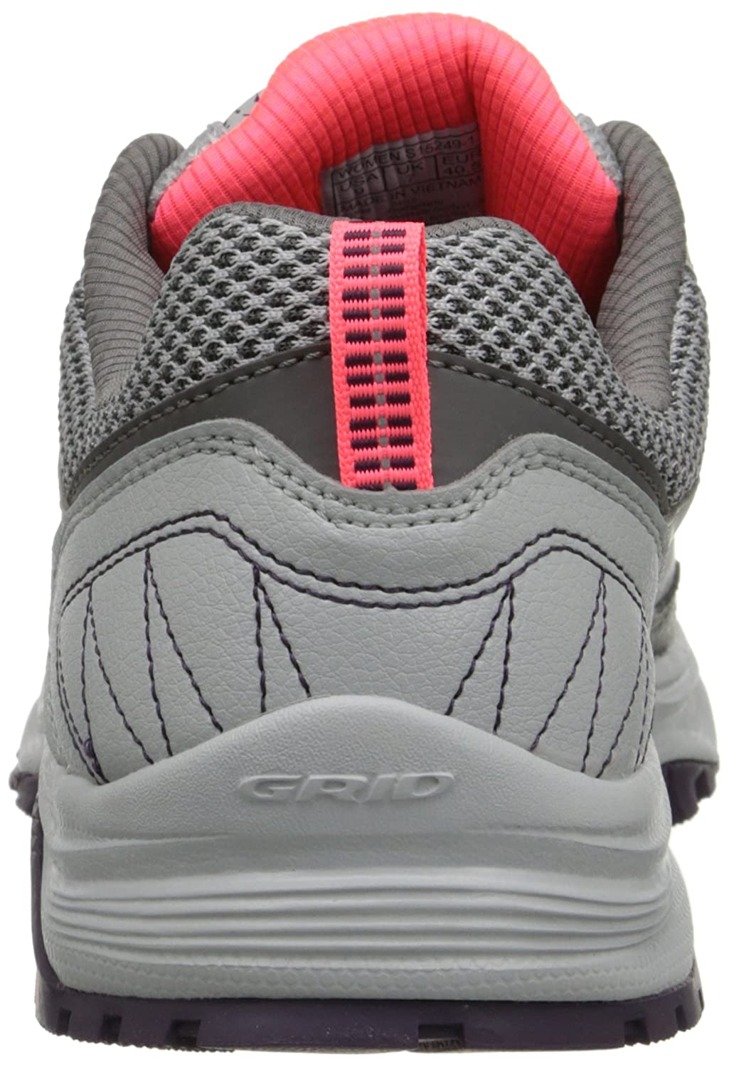 Saucony Women's Grid Excursion TR9 Trail Running Shoe B00PJAB8SE 7 B(M) US|Grey/Plum/Coral