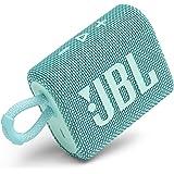 JBL Go 3: Portable Speaker with Bluetooth, Built-in Battery, Waterproof and Dustproof Feature - Teal (JBLGO3TEALAM)