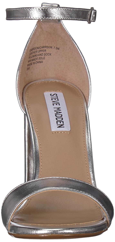 Steve Madden Women's Carrson Dress Sandal B077FN9KY3 8.5 B(M) US|Silver