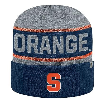 best service 7e09f 8ca57 ... discount syracuse orange ncaa top of the world quotbelow zero 2quot  cuffed knit hat c61b0 587cc