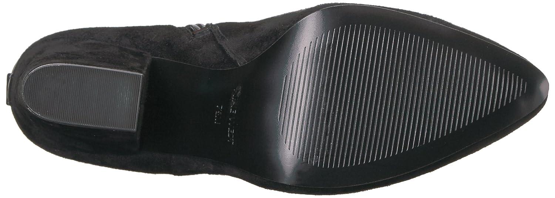 Nine West Women's Sandor Knee High Boot B01N6ZJDLC 6 B(M) US|Black Suede