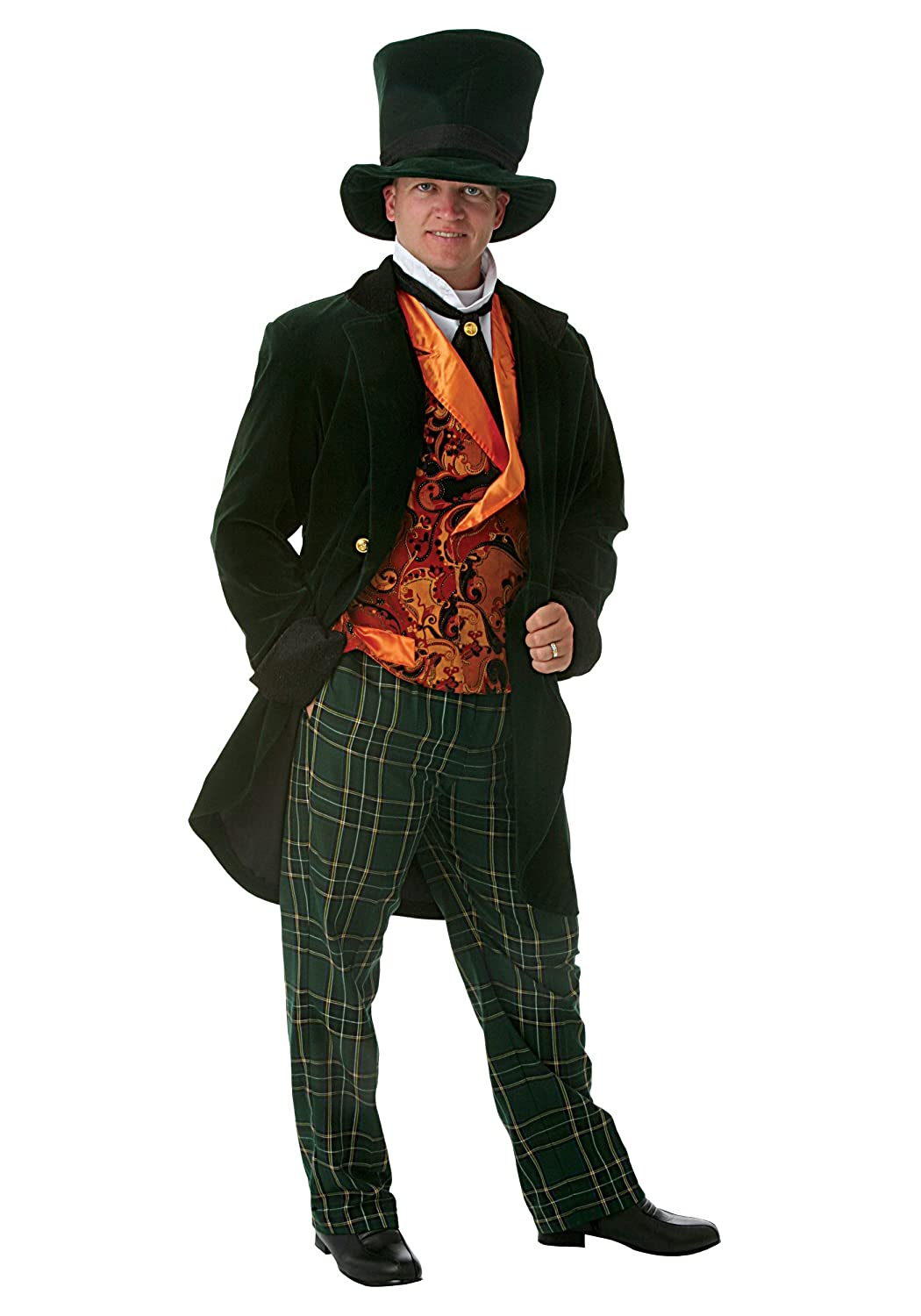 Deluxe Adult Mad Hatter Fancy dress costume X-Large
