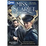 Masterpiece Mystery!: Miss Scarlet and the Duke DVD