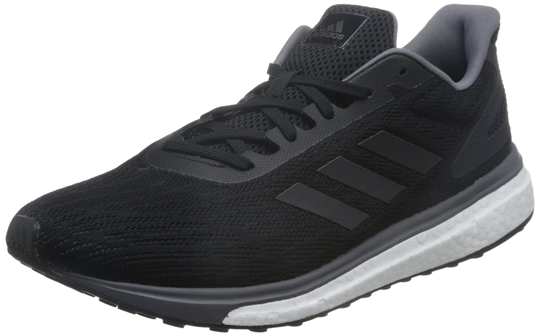 Adidas Response Lt M, Zapatillas de Running para Hombre 43 1/3 EU Negro (Negbas / Nocmét / Gricin)