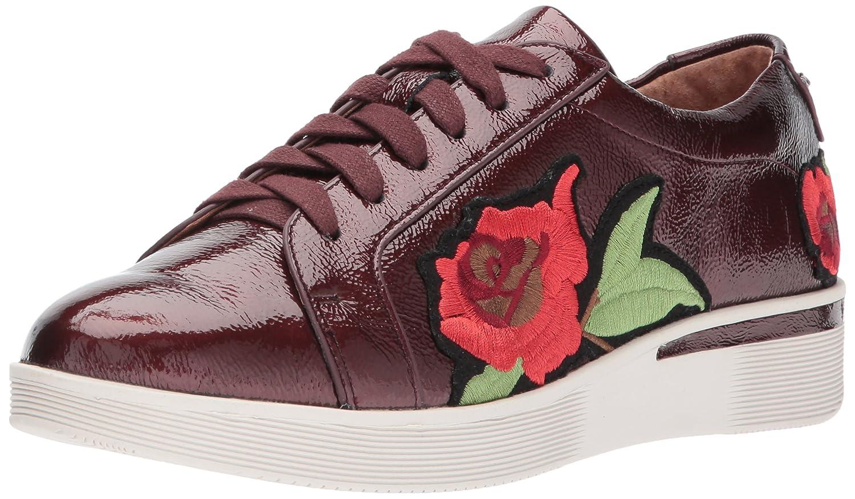 Gentle Souls by Kenneth Cole Women's Haddie Low Profile Fashion Sneaker Embossed Fashion Sneaker B06XX4VWL6 9 M US|Wine