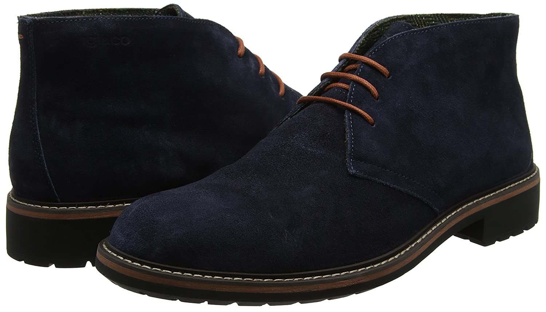 IGI&Co Herren Blu Uca 8682 Combat Boots Blu Herren (Blu) 833564