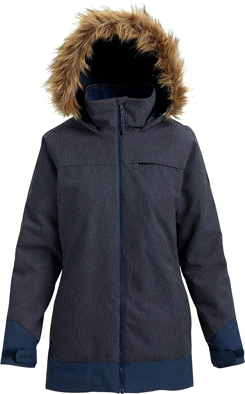 Denim Mood Indigo Burton Women's Lelah Jacket, Balsam Squashed, Large