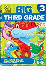 School Zone - Big Third Grade Workbook - Ages 8 to 9, 3rd Grade, Reading, Writing, Math, Science, History, Social Science, and More (School Zone Big Workbook Series) Paperback
