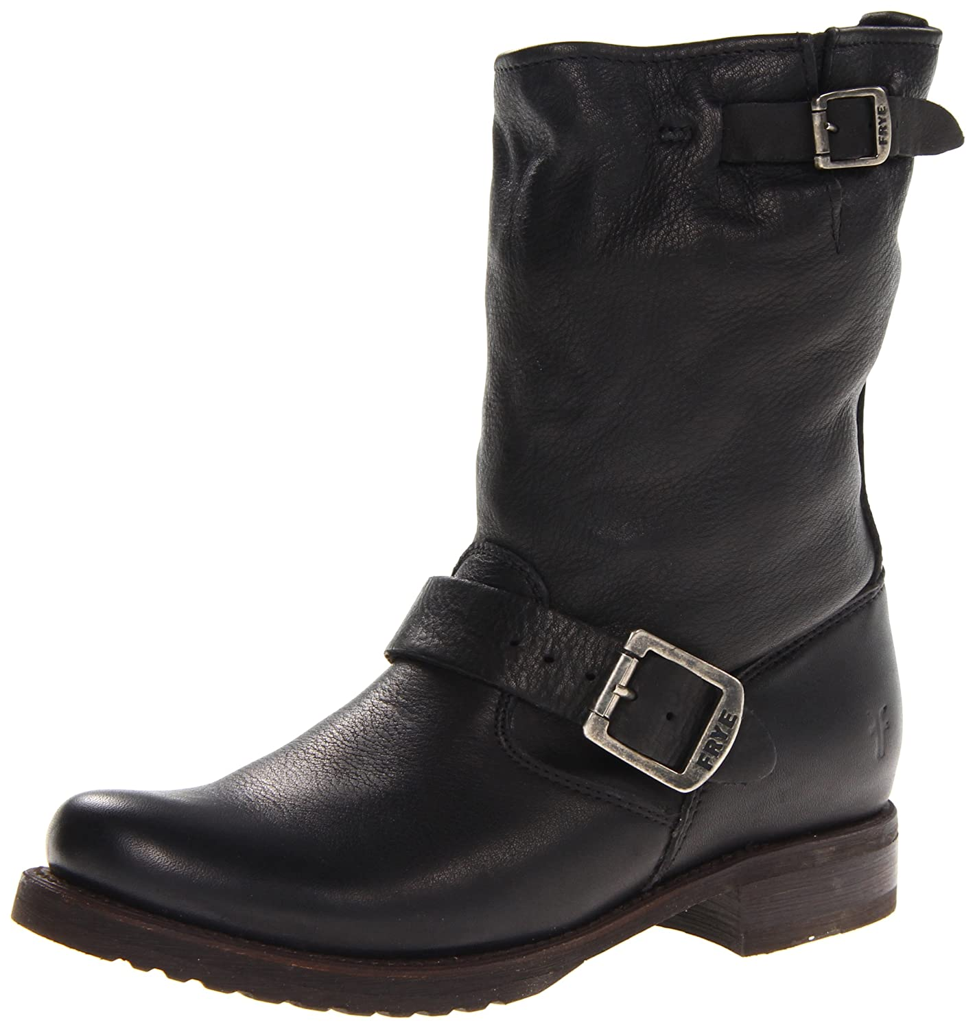 Black Soft Vintage Leather Frye Women's Veronica Short Boot