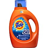 Tide Ultra Oxi Liquid Laundry Detergent Soap, High Efficiency (HE), 59 Loads