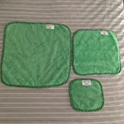 Super Soft Machine Washable and Dryer Safe Gentle Plush Cleaning Cloths for Makeup Removal Cars and More 10-Piece Set Campanellis PuppyFur Microfiber Towels Dusting Electronics Green