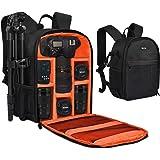 Yesker Camera Backpack Professional DSLR/SLR Camera Bag Waterproof Shockproof, Camera Case Compatible for Sony Canon Nikon Ca