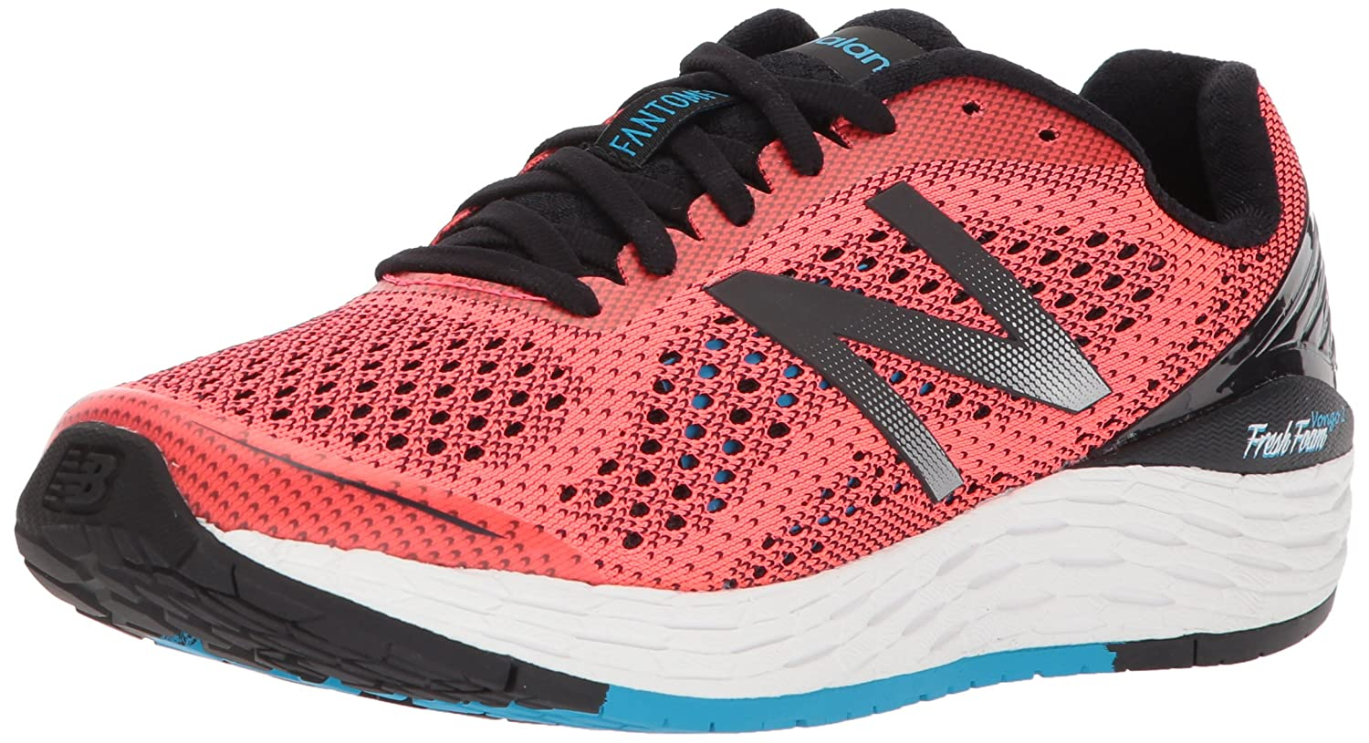 New Balance Women's Vongo V2 Running Shoe B06XSB67R5 11 D US|Vivid Coral/Black